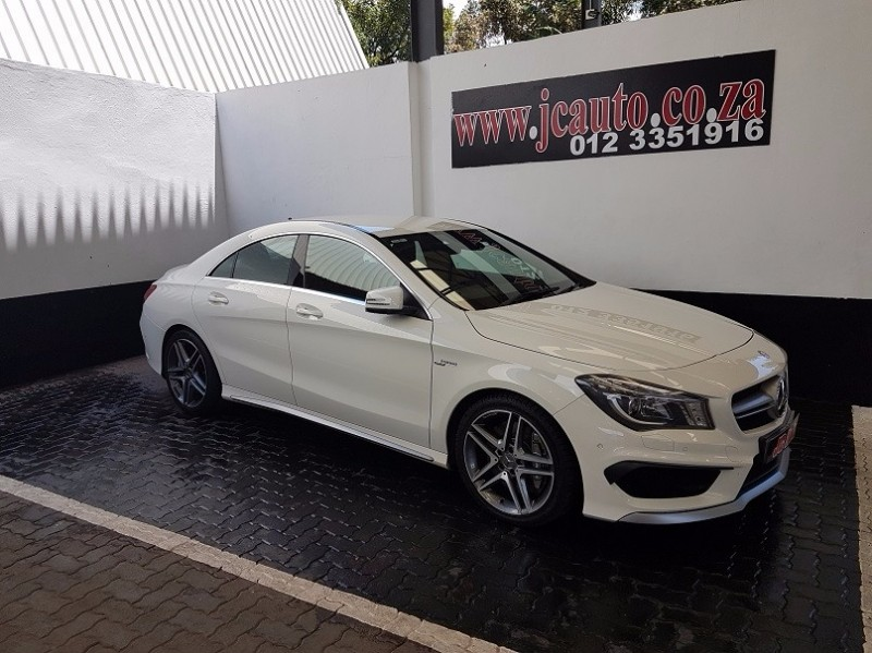 used mercedes benz cla class cla45 amg for sale in gauteng id 2745580. Black Bedroom Furniture Sets. Home Design Ideas
