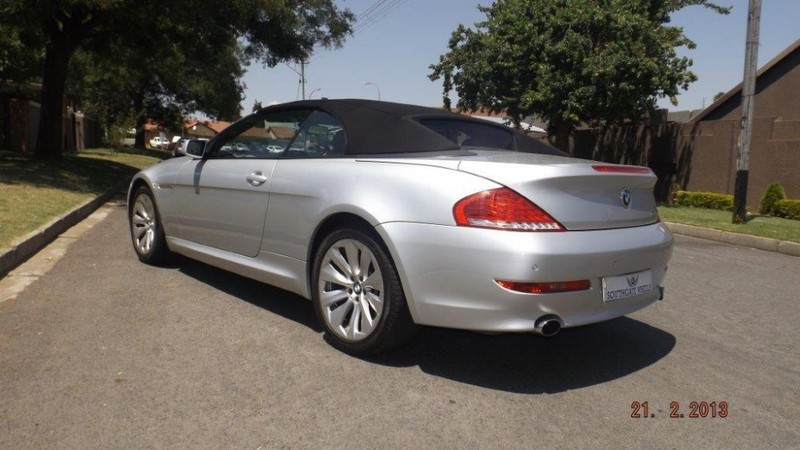 used bmw 6 series 650i convertible sport e64 for sale in gauteng id 2768732. Black Bedroom Furniture Sets. Home Design Ideas