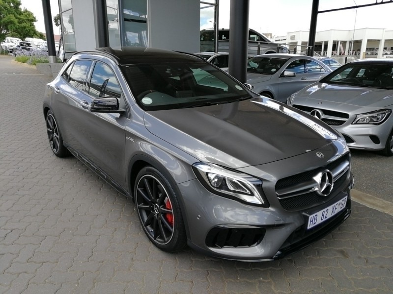 used mercedes benz gla class amg gla 45 4matic for sale in gauteng id 2769990. Black Bedroom Furniture Sets. Home Design Ideas