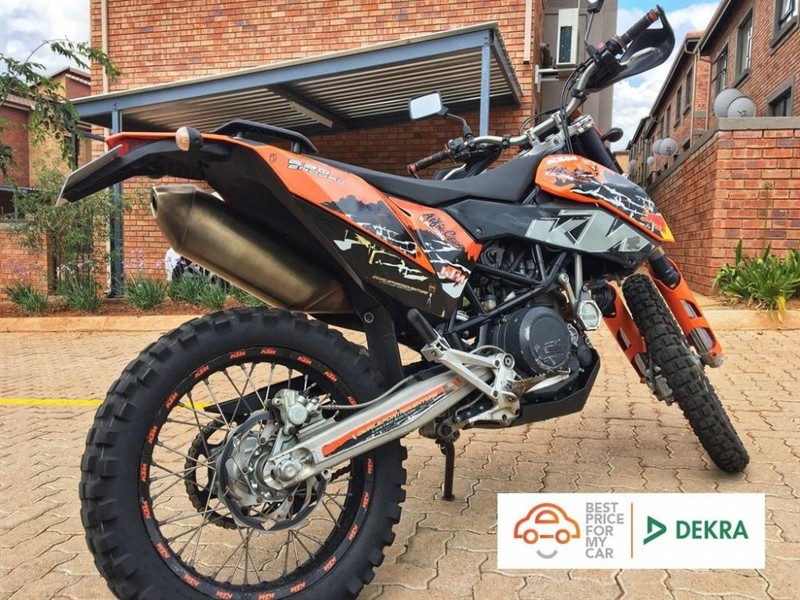 used ktm 690 enduro for sale in western cape id 2771300. Black Bedroom Furniture Sets. Home Design Ideas