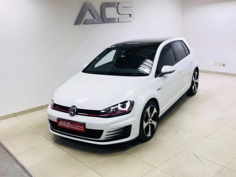used volkswagen golf 7 gti dsg performance pack 169kw 16000kms for sale in gauteng. Black Bedroom Furniture Sets. Home Design Ideas