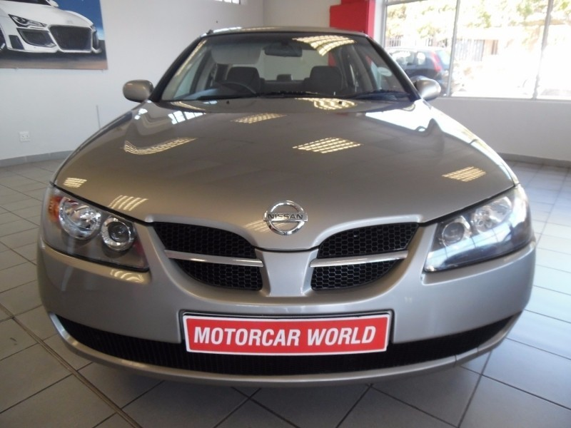 used nissan almera 2005 nissan el mera 1 6 luxury auto sedansold for sale in western cape cars. Black Bedroom Furniture Sets. Home Design Ideas