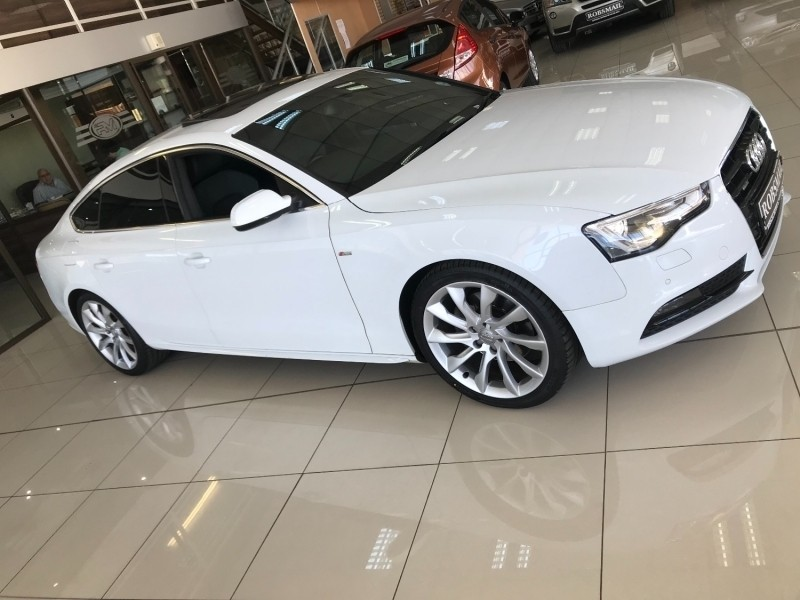 used audi a5 sportback 2 0 tfsi quattro s tronic for sale in north west province. Black Bedroom Furniture Sets. Home Design Ideas