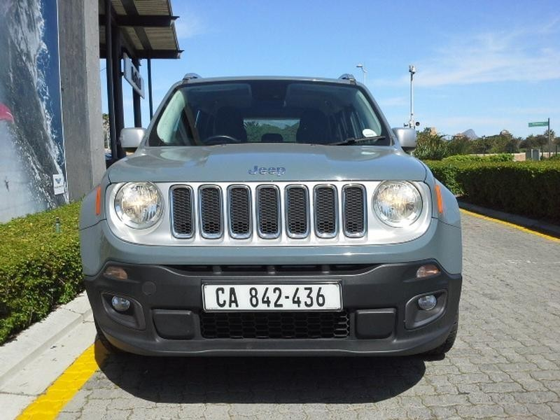 used jeep renegade 1 4 tjet ltd for sale in western cape. Black Bedroom Furniture Sets. Home Design Ideas