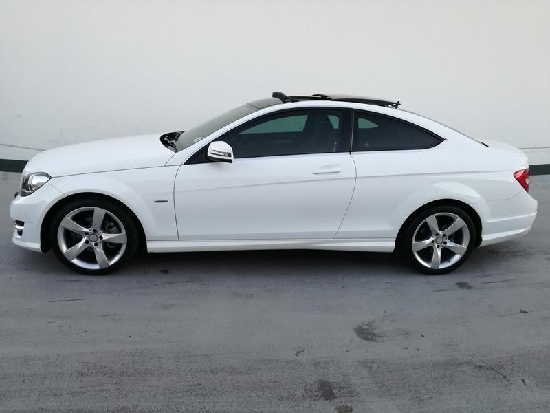 Used mercedes benz c class c180 be coupe for sale in for Mercedes benz c class used cars for sale