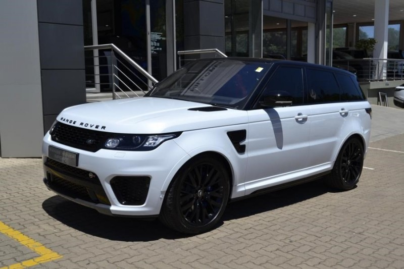 used land rover range rover 5 0 supercharged svr for sale in kwazulu natal id 2825218. Black Bedroom Furniture Sets. Home Design Ideas
