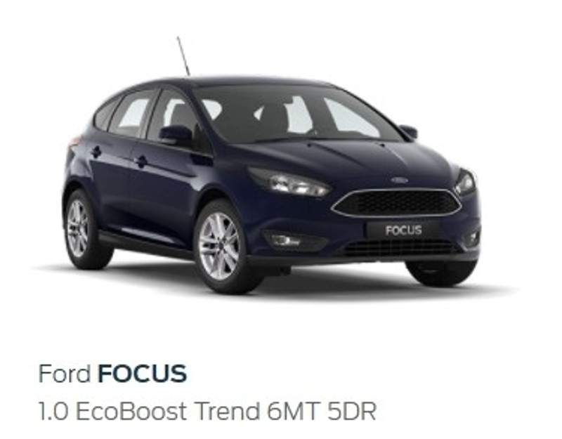 used ford focus 1 0 ecoboost trend hatch with both packs for sale in western cape. Black Bedroom Furniture Sets. Home Design Ideas