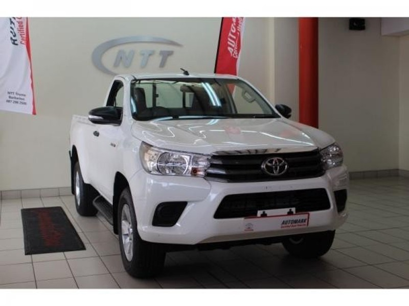 Used Toyota Hilux 2 4 Gd 6 Rb Srx Single Cab Bakkie For