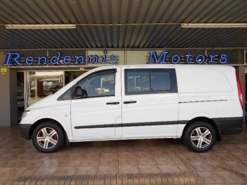 Used mercedes benz vito 115 2 2 cdi crew cab f c p v for for Mercedes benz vito for sale