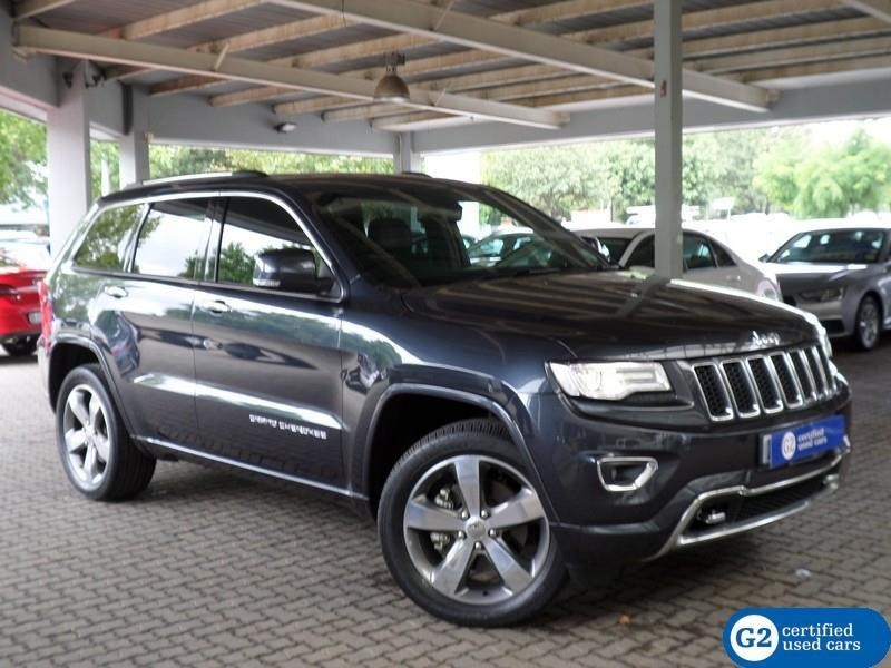 used jeep grand cherokee 3 6 overland for sale in gauteng id 2846460. Black Bedroom Furniture Sets. Home Design Ideas