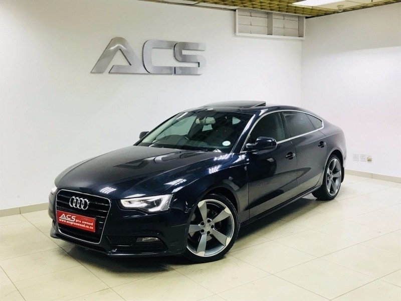 used audi a5 2 0 tdi s line sportback auto sunroof xenons for sale in gauteng id. Black Bedroom Furniture Sets. Home Design Ideas