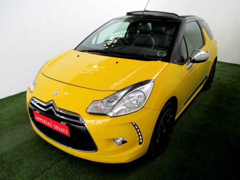 used citroen ds3 cabrio 1 6 thp sport for sale in gauteng id 2853860. Black Bedroom Furniture Sets. Home Design Ideas