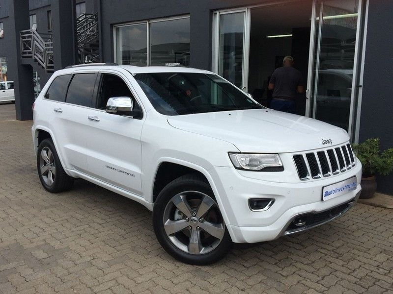 used jeep grand cherokee 5 7 v8 overland for sale in gauteng id 2856566. Black Bedroom Furniture Sets. Home Design Ideas