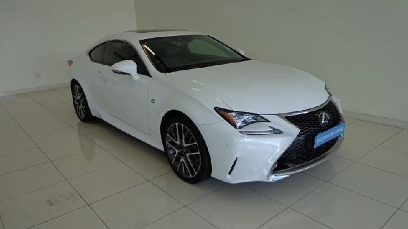 used lexus rc 350 f sport v6 for sale in gauteng id 2857546. Black Bedroom Furniture Sets. Home Design Ideas
