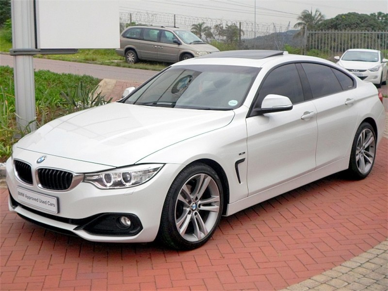 used bmw 4 series 420i gran coupe sport line auto for sale in kwazulu natal id. Black Bedroom Furniture Sets. Home Design Ideas
