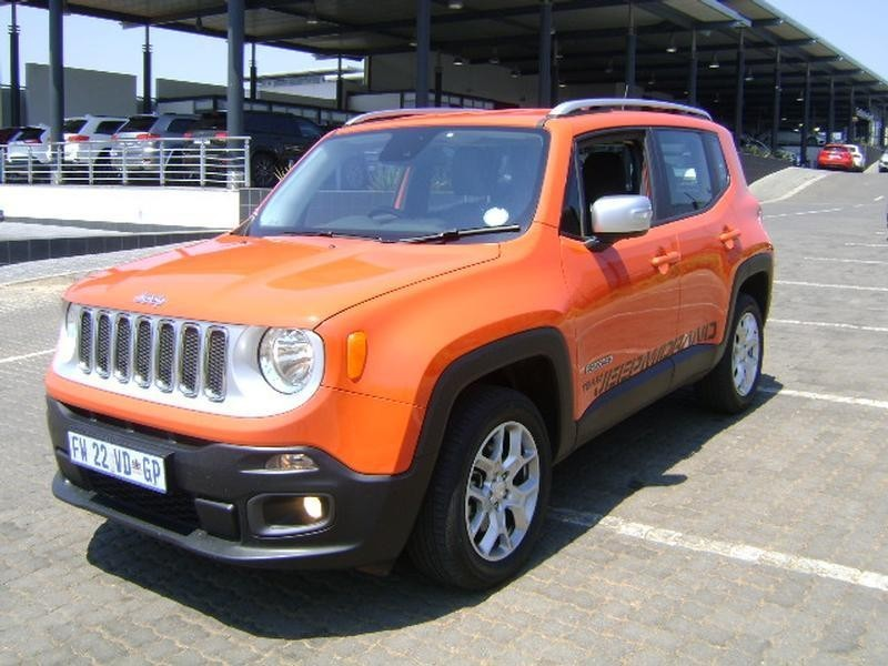 Used Jeep Renegade 1 4 Tjet Ltd Awd Auto For Sale In