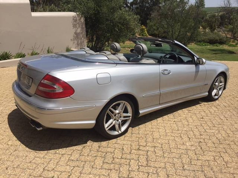 used mercedes benz clk class clk 320 cabriolet a t for sale in western cape id. Black Bedroom Furniture Sets. Home Design Ideas