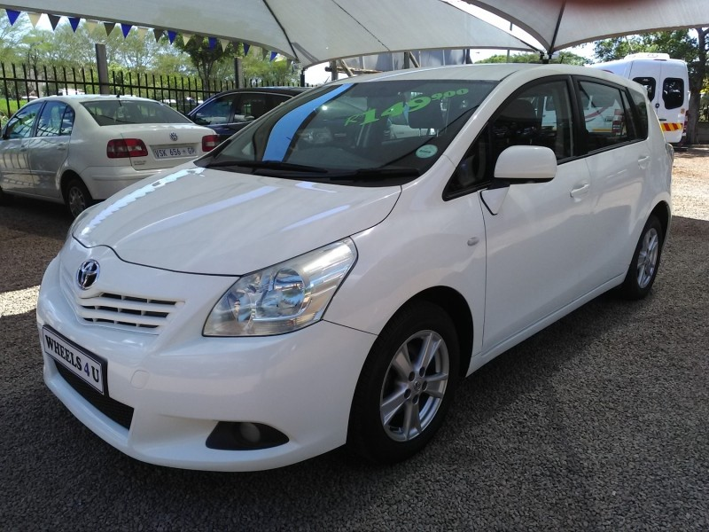 Used Toyota Verso 1 6sx Vehicle Finance Available For