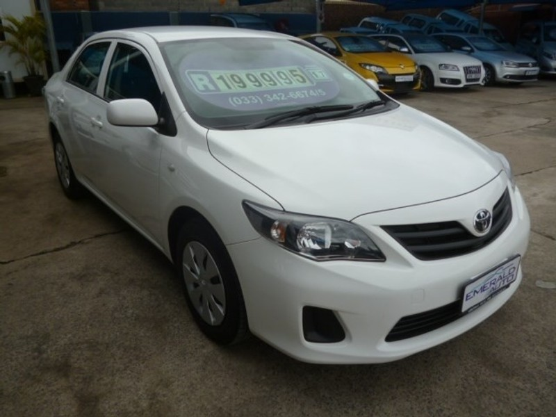 Used Toyota Corolla Quest 1 6 For Sale In Kwazulu Natal