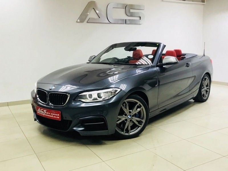 used bmw m2 m240i msport convertible auto red leather 45000kms for sale in gauteng. Black Bedroom Furniture Sets. Home Design Ideas