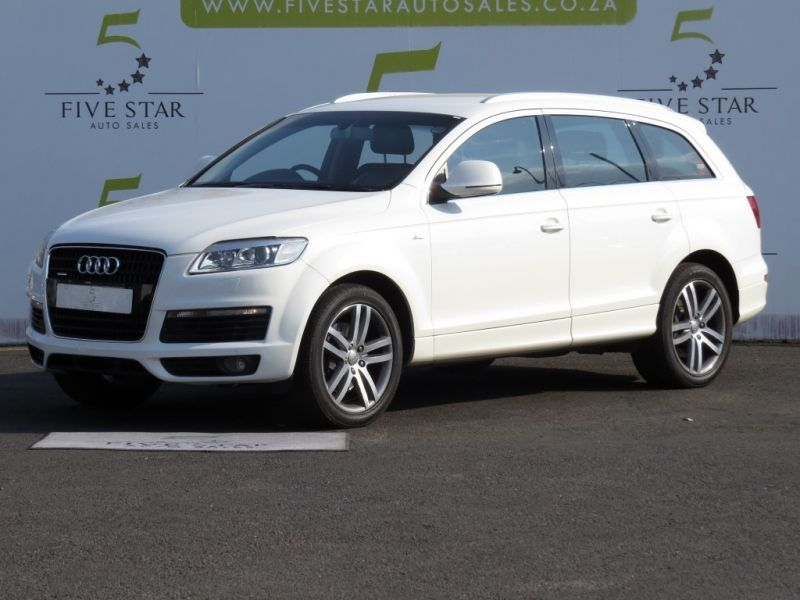 used audi q7 4 2 tdi v8 quattro tip for sale in gauteng id 2880470. Black Bedroom Furniture Sets. Home Design Ideas