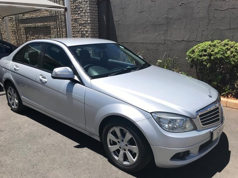 Used mercedes benz c class c180k classic a t for sale in for 2008 mercedes benz c class for sale