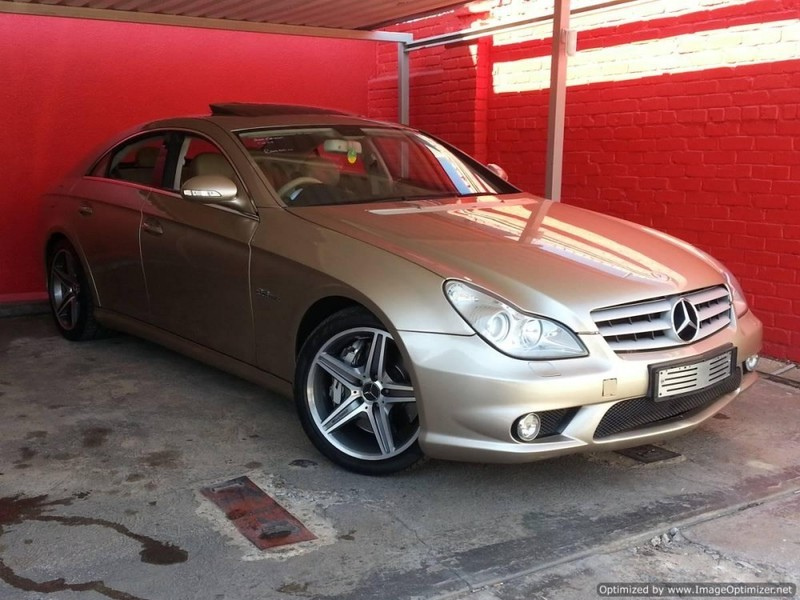 used mercedes benz cls class cls 63 amg for sale in gauteng id 2886356. Black Bedroom Furniture Sets. Home Design Ideas