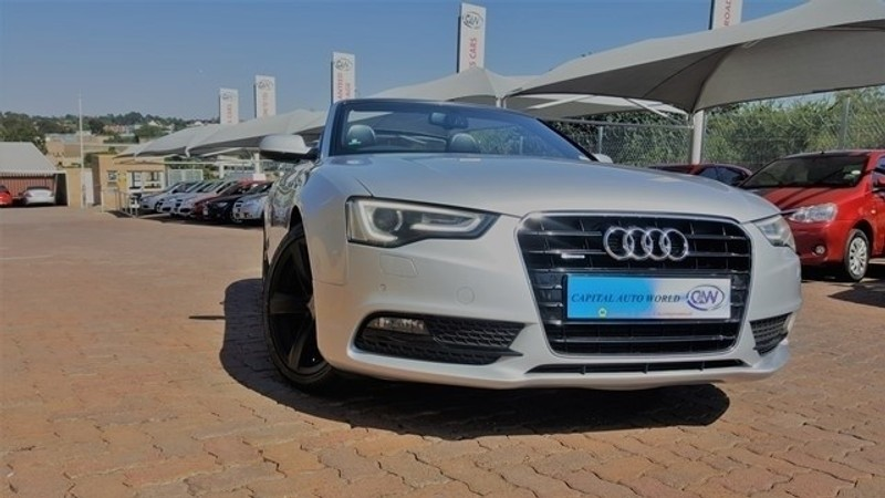 used audi a5 2 0 tfsi quattro cabriolet s tronic for sale in gauteng id 2886960. Black Bedroom Furniture Sets. Home Design Ideas