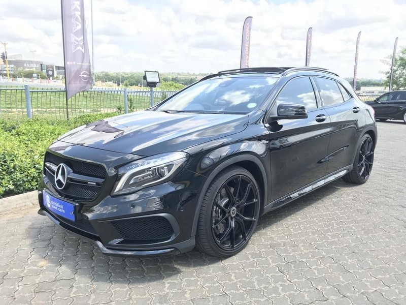 used mercedes benz gla class 45 amg for sale in gauteng id 2889126. Black Bedroom Furniture Sets. Home Design Ideas