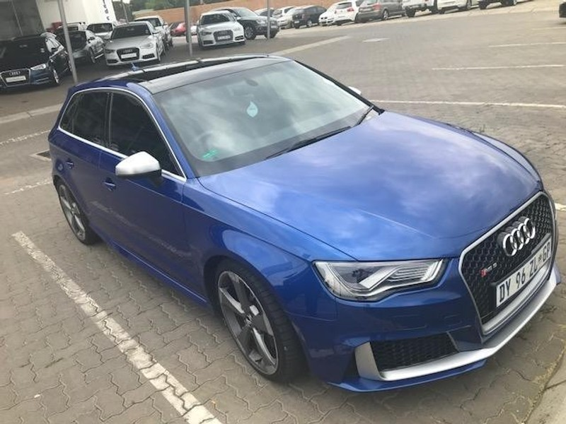 used audi rs3 sportback s tronic for sale in gauteng id 2890324. Black Bedroom Furniture Sets. Home Design Ideas