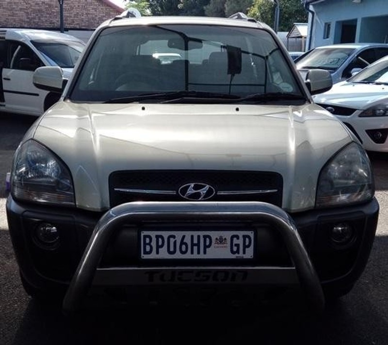 Used Hyundai Tucson 2.0 Crdi A/t For Sale In Gauteng