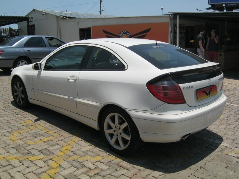 Used mercedes benz c class c 230k coupe a t for sale in for Mercedes benz c class used cars for sale