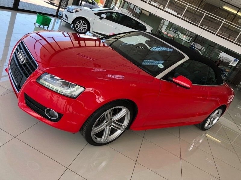 used audi a5 2 0 tfsi cabriolet mtronic for sale in north west province id 2892230. Black Bedroom Furniture Sets. Home Design Ideas
