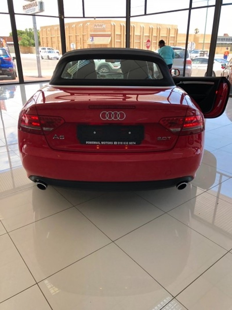 Used Audi A5 2 0 Tfsi Cabriolet Mtronic For Sale In North