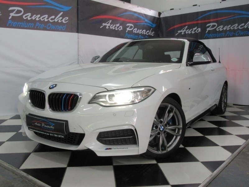 used bmw m2 m235 convertible auto f23 for sale in gauteng id 2892742. Black Bedroom Furniture Sets. Home Design Ideas