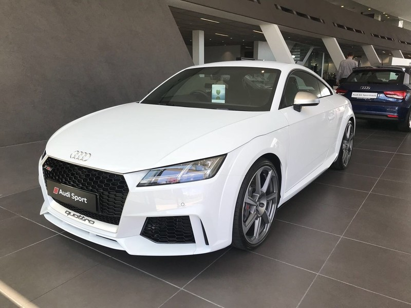used audi tt rs quattro coupe stronic for sale in western. Black Bedroom Furniture Sets. Home Design Ideas