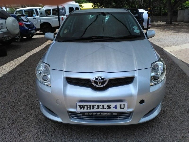 used toyota auris 1 6 xs for sale in gauteng id 2904326. Black Bedroom Furniture Sets. Home Design Ideas