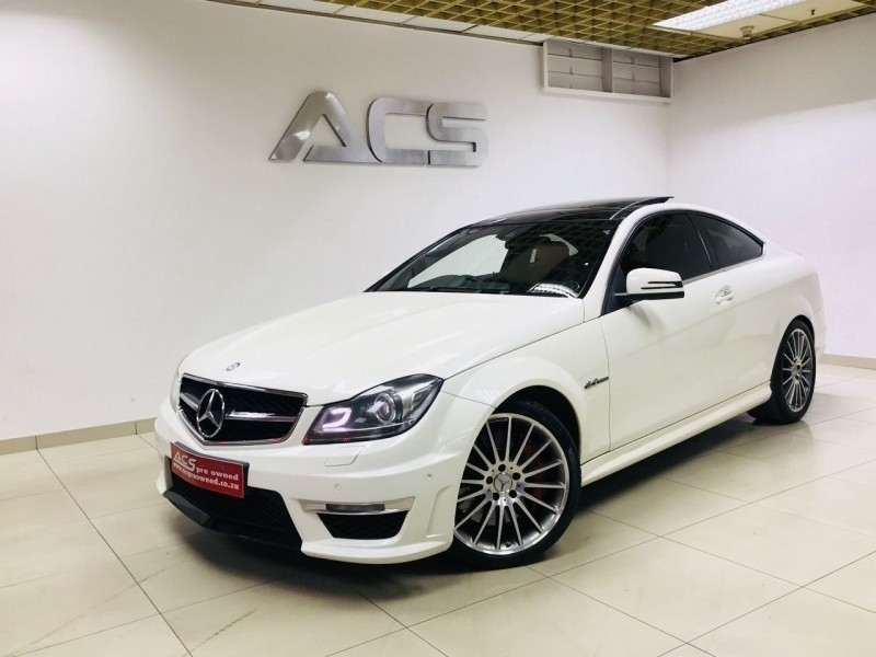 used mercedes benz c class c63 amg coupe 7g tronic performance pack 79000kms for sale in gauteng. Black Bedroom Furniture Sets. Home Design Ideas