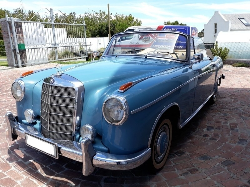 Used mercedes benz ponton 1958 220s cabriolet for sale in for 1958 mercedes benz 220s for sale
