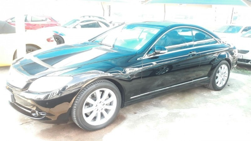 Used mercedes benz cl class cl 500 7sp for sale in gauteng for 2007 mercedes benz cl550 for sale