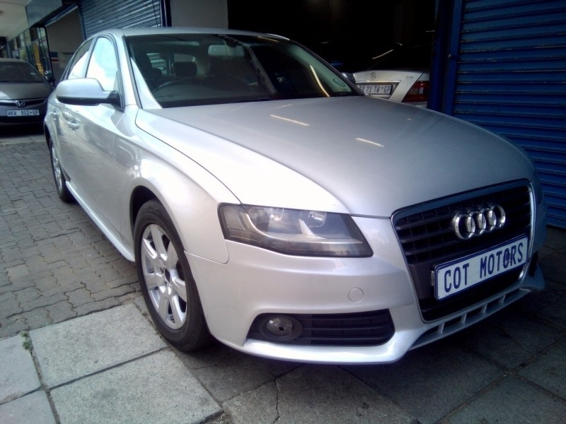 Used Audi A4 1.8t S Multitronic for sale in Gauteng - Cars.co.za (ID:2916522)