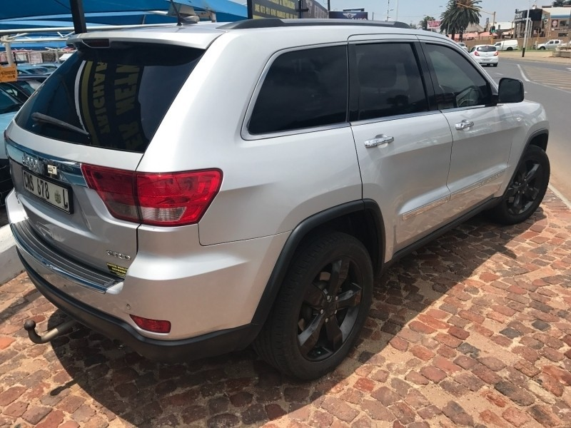 used jeep grand cherokee v6 crd overland for sale in gauteng id 2916524. Black Bedroom Furniture Sets. Home Design Ideas