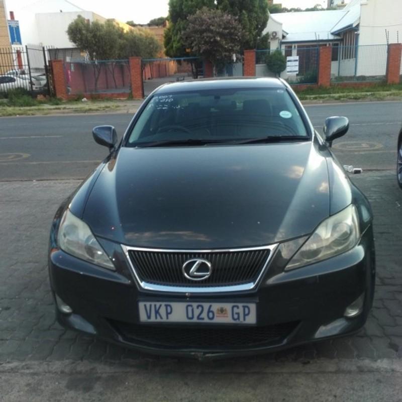 Used Lexus IS 250 A/t For Sale In Gauteng