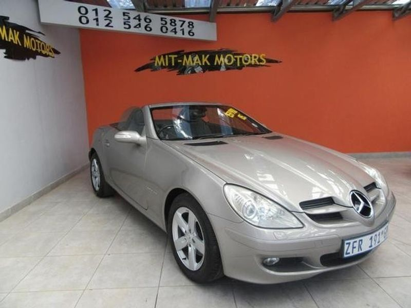 used mercedes benz slk class slk 200 kompressor a t for sale in gauteng id 2931240. Black Bedroom Furniture Sets. Home Design Ideas