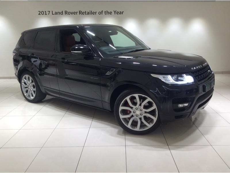 used land rover range rover 2014 range rover sport black hse supercharged for sale in gauteng. Black Bedroom Furniture Sets. Home Design Ideas