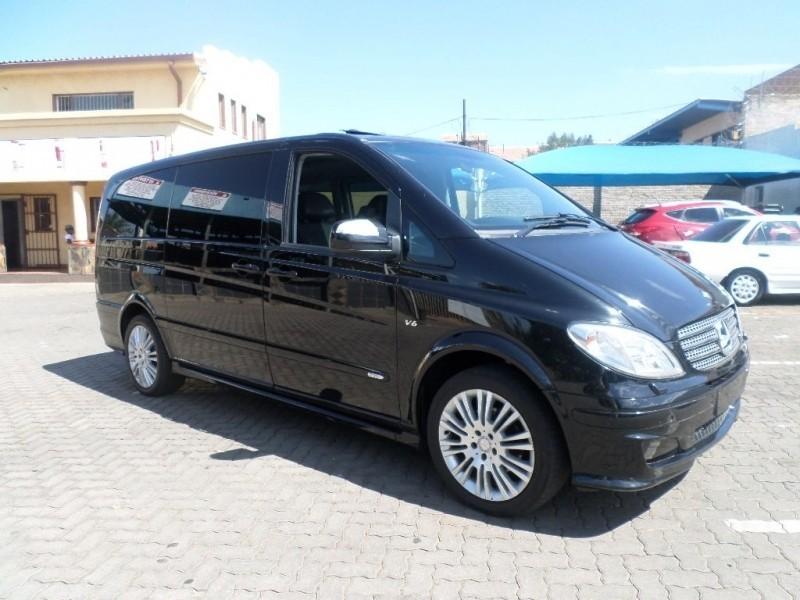 used mercedes benz viano 3 5 v6 for sale in gauteng cars. Black Bedroom Furniture Sets. Home Design Ideas