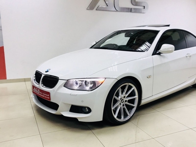 used bmw 3 series 325i coupe msport auto e92 sunroof red seats for sale in gauteng