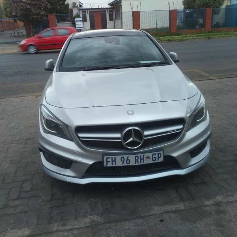 used mercedes benz cla class cla45 amg for sale in gauteng id 2956884. Black Bedroom Furniture Sets. Home Design Ideas