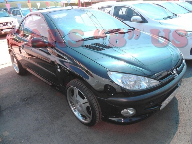 Used peugeot 206 2 0 coupe cabriolet for sale in gauteng id 2974905 - Peugeot 206 coupe cabriolet review ...