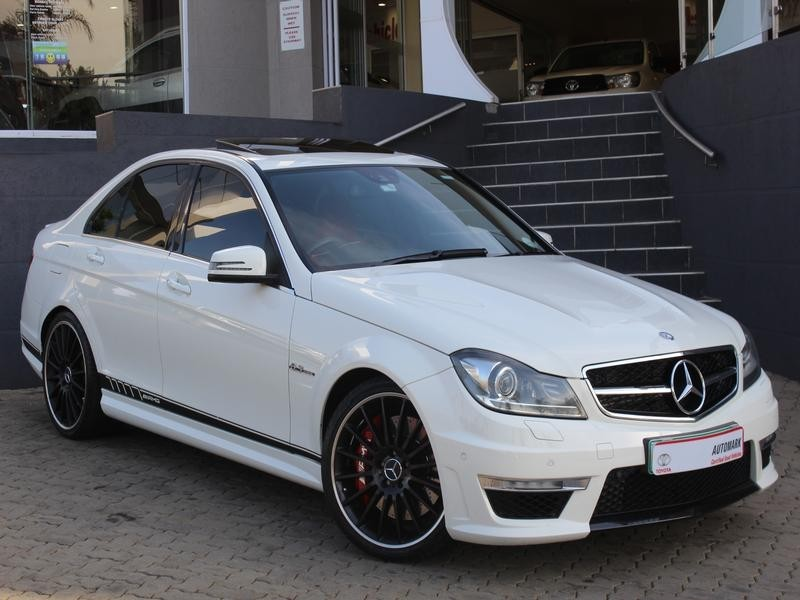 used mercedes benz c class c63 amg for sale in gauteng id 2976669. Black Bedroom Furniture Sets. Home Design Ideas